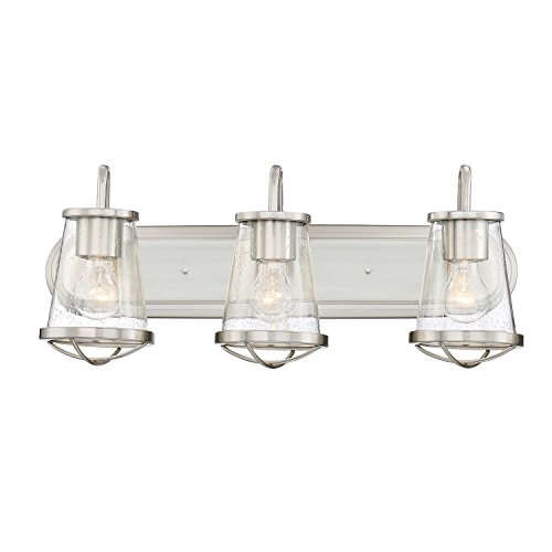 Designers Fountain 87003-SP Darby 3 Light Bath Bar, 24 in. in