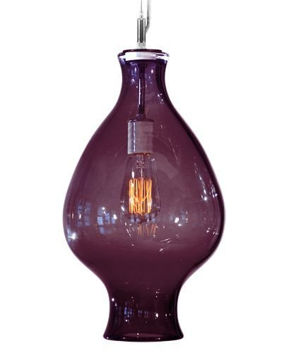 Tempo Luxury Home Vesuvius Collection Odin Pendant, Large, Lilac by Tempo Luxury Home (Image #1)