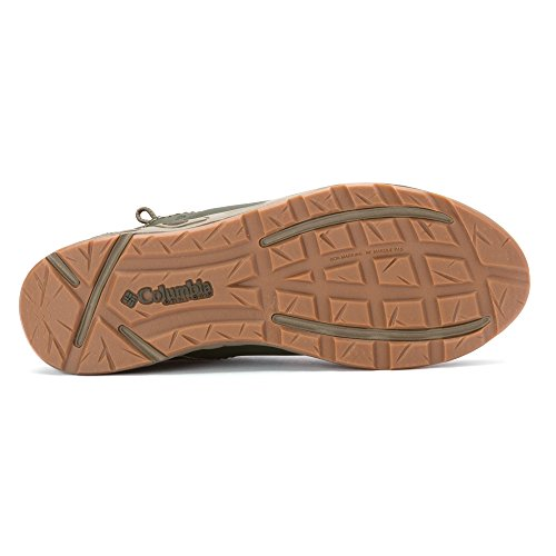 Columbia Men 's PFG de ventilación Bahama Slip-On zapatos de barco Surplus Green / Laser Lemon