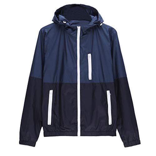 kaifongfu Sports Jacket,Men Outdoor Sportswear Lightweight Bomber Jackets