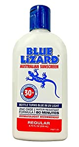 Blue Lizard Regular Suncream 30 Plus