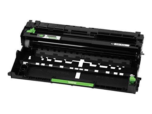 Drum Unit Printer Cartridges - Brother Genuine Drum Unit, DR820, Seamless Integration, Yields Up to 30,000 Pages, Black