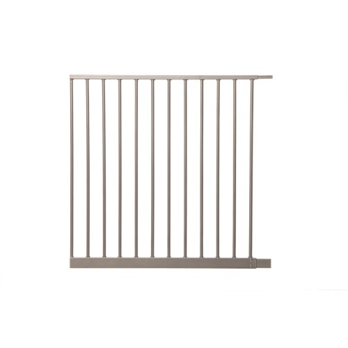 Dreambaby Magnetic Sure Close Gate Extension, Silver, 27.5