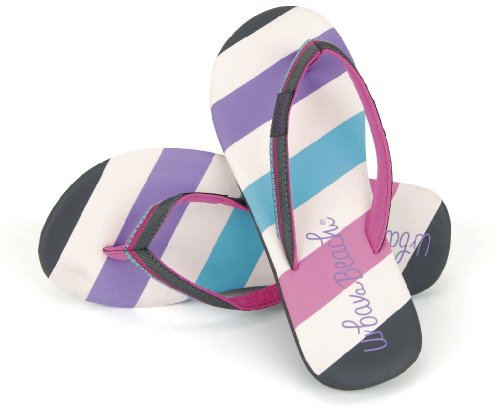 GIRLS CHILDRENS KIDS URBAN BEACH TOE POSTS FLIP FLOPS CUSHIONED SANDALS  BEACH SUMMER HOLIDAY SIZE 10-2: Amazon.co.uk: Shoes & Bags