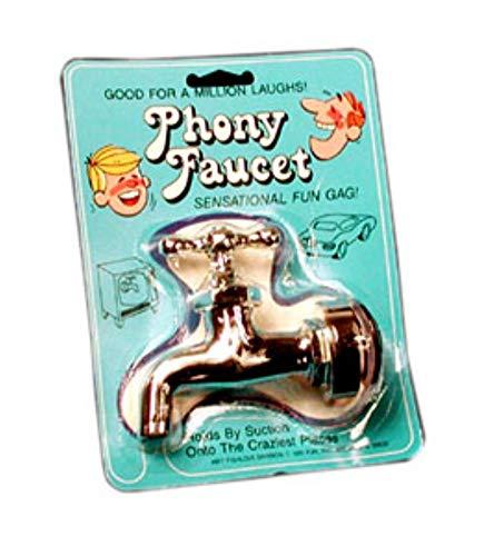 Royal Magic Phony Faucet - This Realistic-looking Faucet Is a Sensational, Fun Gag.