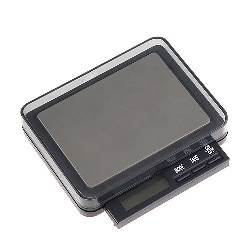 Kingzer Mini 2000g/0.1g 2kg Digital Electronic Balance Weight Scale 5 Weighing Units by KINGZER