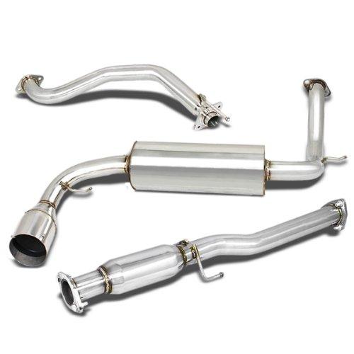 - For Honda CR-X Catback Exhaust System 4.5