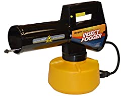 Easy to use - just plug in. This lightweight fogger is the most economical way to kill mosquitoes, biting flies, and flying insects. The secret is in the microscopic particles it produces - up to 7 times finer than mist! The fog floats and pe...
