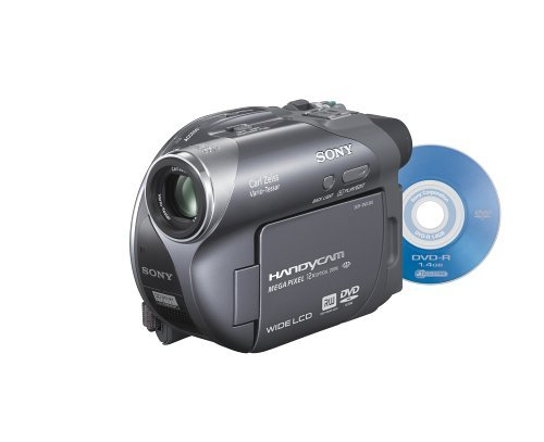 Sony DCR-DVD305 1MP DVD Handycam Camcorder with 12x Optical Zoom (Discontinued by Manufacturer) (Renewed)