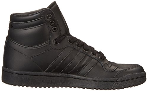 Adidas Top Ten Hi J Black Black Youths Trainers Negro - negro