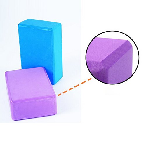 YOKIRIN EVA Foam Yoga Block Brick Ideal for Yoga and Pilates Yoga Block b2eFjeBT1
