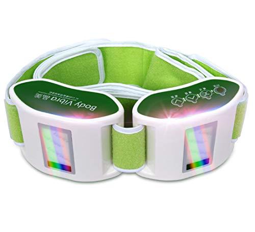 ZQG BEAUTY Electric Vibration Slimming Belt Shaping Body Thin Waist Abdomen Rouge Weight Loss Massage Machine Electric Board to Reduce Stomach Virtual Art Lazy Model