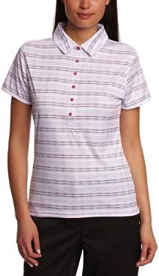 Calvin Klein Golf Golf Polo - Polo para Mujer, Color Blanco/Rosa ...