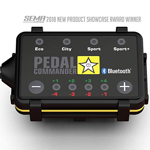 PEDAL COMMANDER Throttle Response Controller PC38 Bluetooth for Toyota Tacoma 2005 and newer (Fits All Trim Levels; SR, SR5, TRD Sport, TRD Off Road, Limited, TRD Pro)