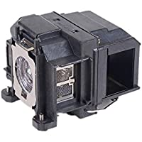 LAMTOP ELPLP67 Projector Replacement Lamp with Housing for Epson EB-X12 EB-W12 EB-S11 EB-X14 EB-X02 EB-S12+ X11 H430A H429A H428A H432B H434B EB-S01 EB-W11 EB-C30X EB-S02 MG850HD