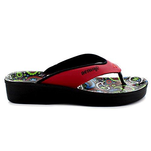 Dojo (A0862) - Original Aerosoft Women Sandals Red (#Ff0000) MQd3j