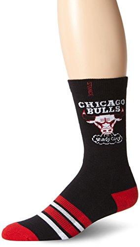Stance Men's Chicago Bulls Crew Socks, Black, XX-Large