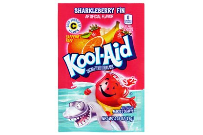 Kool-Aid Sharkleberry Fin Unsweetened Drink Mix, 0.16 oz