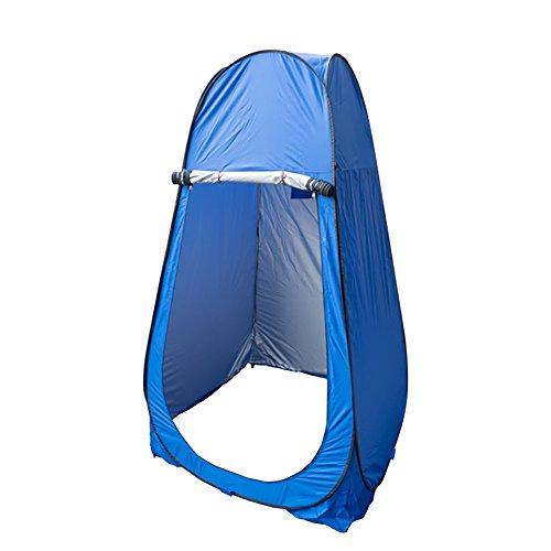ズームインするスカーフ想起ワンタッチテント 着替え用 【TT02】 ポップアップテント ブルー ビーチ キャンプ アウトドア