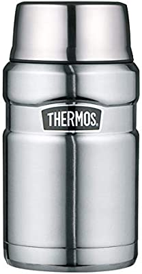 Thermos - Termo (Acero Inoxidable, 710 ml), Color Azul metálico