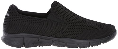 Scarpe Outdoor black Double 45 Eu Uomo Skechersequalizer Sportive Play Nero aZSyTCqT