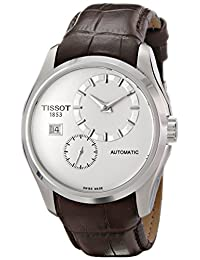 Tissot Men's T0354281603100 Couturier Analog Display Swiss Automatic Brown Watch