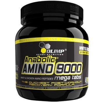 Anabolic Amino 9000, Mega Tabs - 300 tabs by Olimp Nutrition by Olimp Nutrition