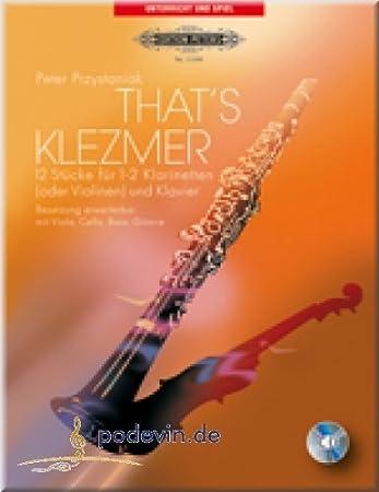 That's Klezmer - Klarinette Noten [Musiknoten]