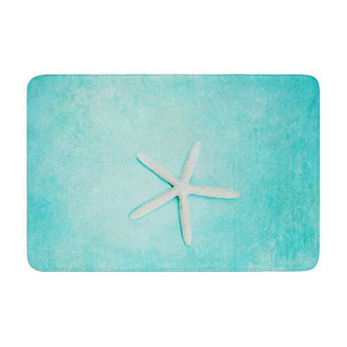"Hot KESS InHouse SC1004ABM02 Bath Mat Sylvia Cook ""Starfish"" Memory Foam Bath Mat, 24"" X 36"",, for cheap"