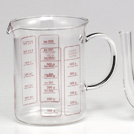 Simax Glass Measuring Cup, 1 Liter