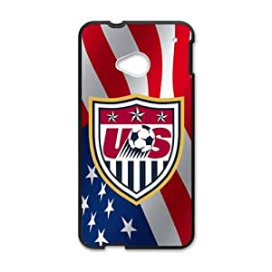 Happy US Footall Fashion Comstom Plastic case cover For HTC One M7