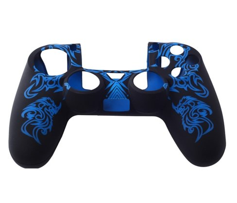 Silicone Rubber Skin Case Cover For Sony PlayStation 4 PS4 Controller
