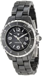 Swiss Legend Women's SL-10049-BKBSA Karamica Black Ceramic Watch