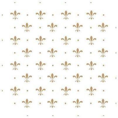 Lis Dots Gr/ö/ße der Schablone: 20 x 20 cm TODO-STENCIL Schablonen zur Herstellung von Dekorationen und Hintergr/ünden 087 Designgr/ö/ße: 17 x 17 cm.