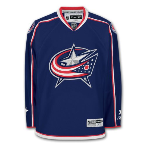 Reebok Columbus Blue Jackets Premier Youth Replica Home NHL Hockey Jersey S/M