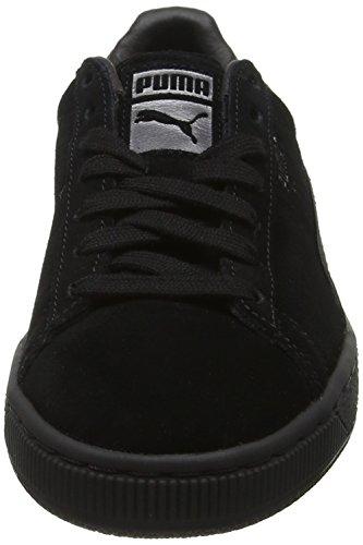 Classic puma Silver Noir Wn's Satin Sneakers Black 01 Aged Femme Basses Puma puma Suede 57vTwfqwnS