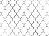 Pack of 1, Arabesque 30'' x 417' Half Ream Gift Wrap (Metallized) for Holiday, Party, Kids' Birthday, Wedding & Special Occasion Packaging