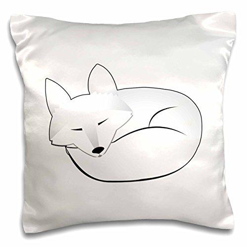 3dRose Cute Sleeping Artic Fox