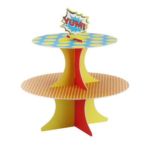 Superhero Party Cupcake Stand