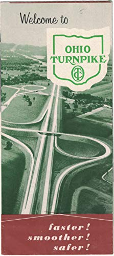 Welcome to the Ohio Turnpike map folder 1957