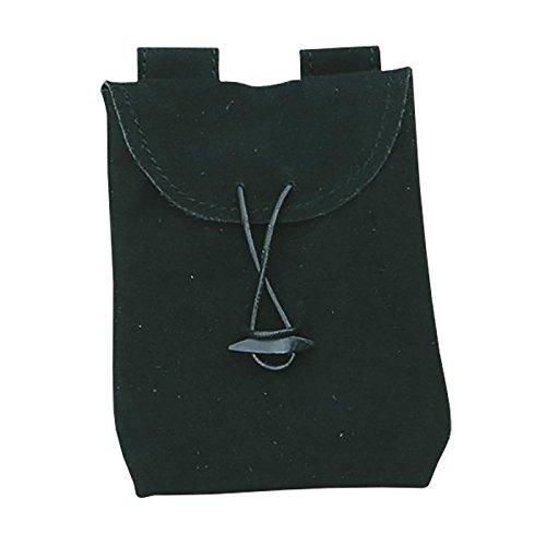 Piccola borsa in pelle nera