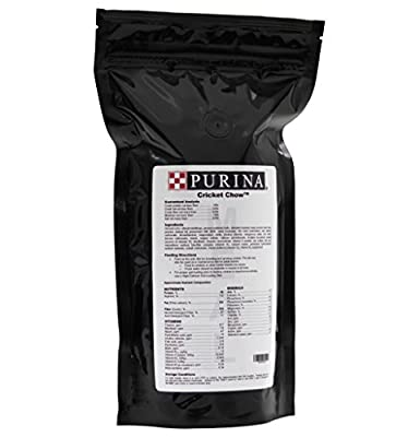 Purina Cricket Chow, Feed/Meal/Food/, A Complete Breeding And Rearing Diet For Maintaining Healthy & Productive Cricket And Dubia Roach Colonies, 1.5 lbs (24oz)