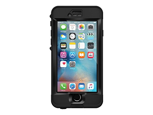 Lifeproof NÜÜD SERIES iPhone 6s ONLY Waterproof Case – Retail Packaging – BLACK