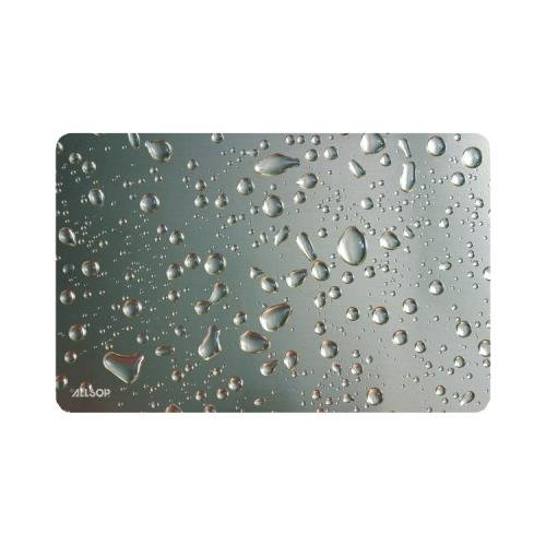 (Allsop Widescreen Metallic Raindrop Mouse Pad