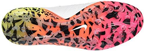 Nike Hypervenom Phantom II AG-R, Scarpe da Calcio Uomo Bianco (Blanco (Blanco (White/Black-total Orange-volt)))