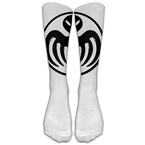 Costume James Bond Casino Royale (007 Unisex Tube Sock Crew Crew Fashion Novelty Knee High Socks)
