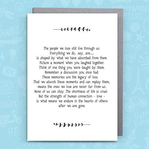 58dbacace4b0aa919ec0e051 Sympathy Card from Bespoke Verse