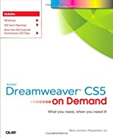 Adobe Dreamweaver CS5 on Demand Front Cover