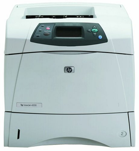 Amazon.com: HP LaserJet 4200tn - Printer - B/W - laser ...