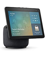 All-new Echo Show 10 (3rd Gen) | HD smart display with motion and Alexa | Charcoal
